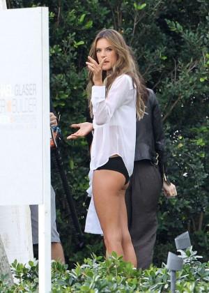 Alessandra Ambrosio: VS Bikini Photoshoot 2014 -19