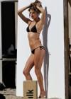 Alessandra Ambrosio in Black Bikini Photoshoot -20