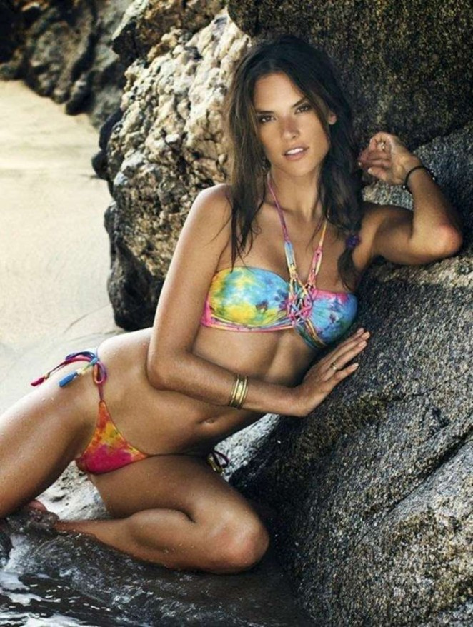 Alessandra Ambrosio - Ale by Alessandra Swimwear Photoshoot 2014