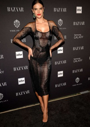 Alessandra Ambrosio - Harper's BAZAAR Celebrates Icons By Carine Roitfeld Event in NYC
