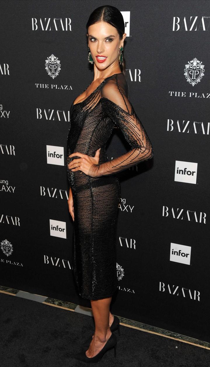 Alessandra Ambrosio – Harper's Bazaar Celebrates ICONS by Carine Rotifeld