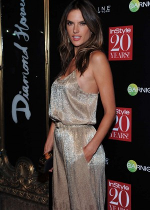 Alessandra Ambrosio - InStyle 20th Anniversary Party in NYC