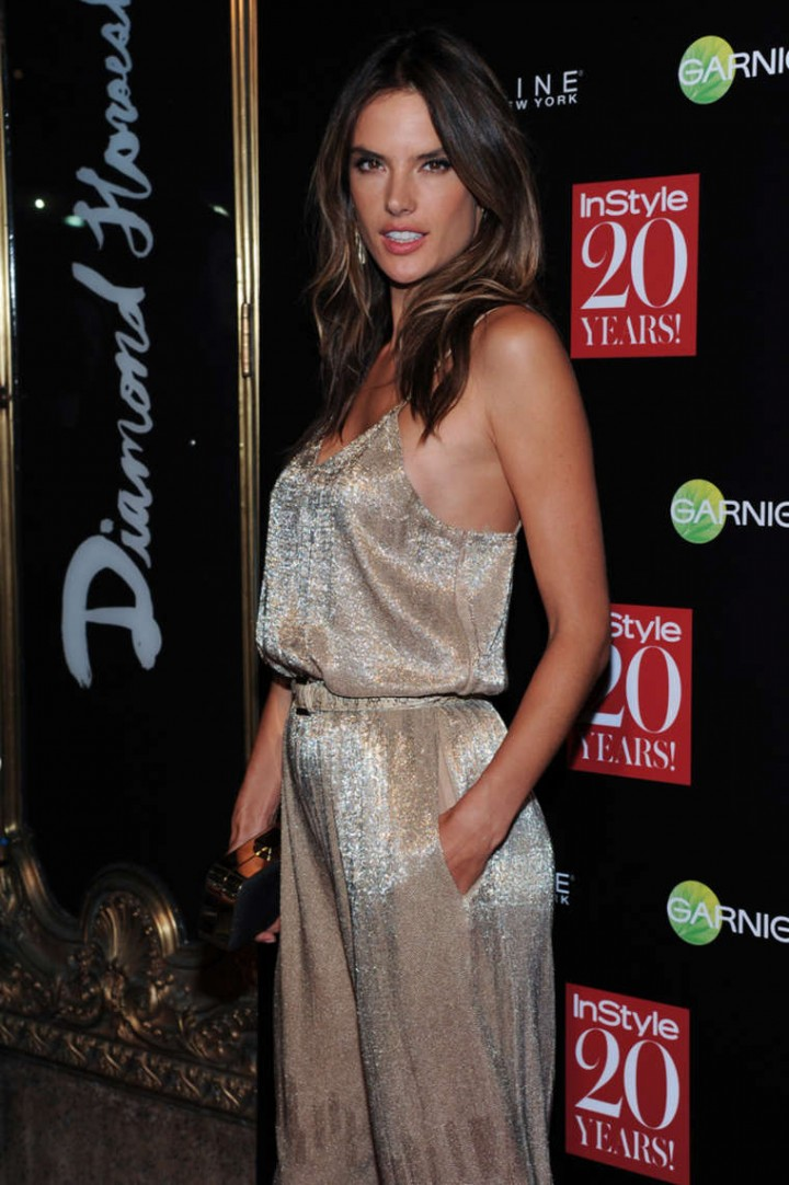 Alessandra Ambrosio – InStyle 20th Anniversary Party in NYC