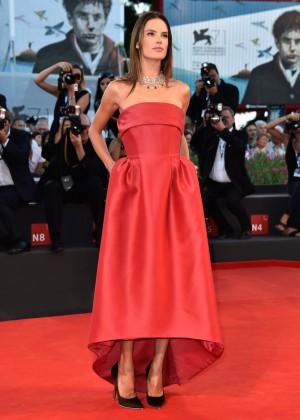 """Alessandra Ambrosio - """"La Rancon De La Gloire"""" premiere during 2014 Venice Film Festival"""