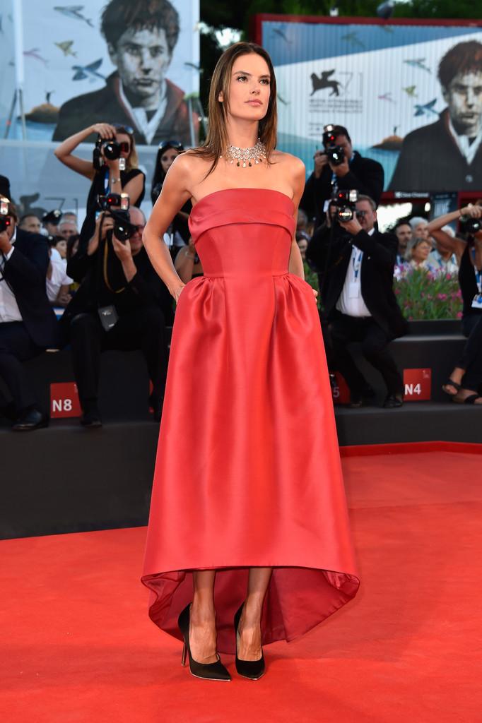 """Alessandra Ambrosio – """"La Rancon De La Gloire"""" premiere during 2014 Venice Film Festival"""