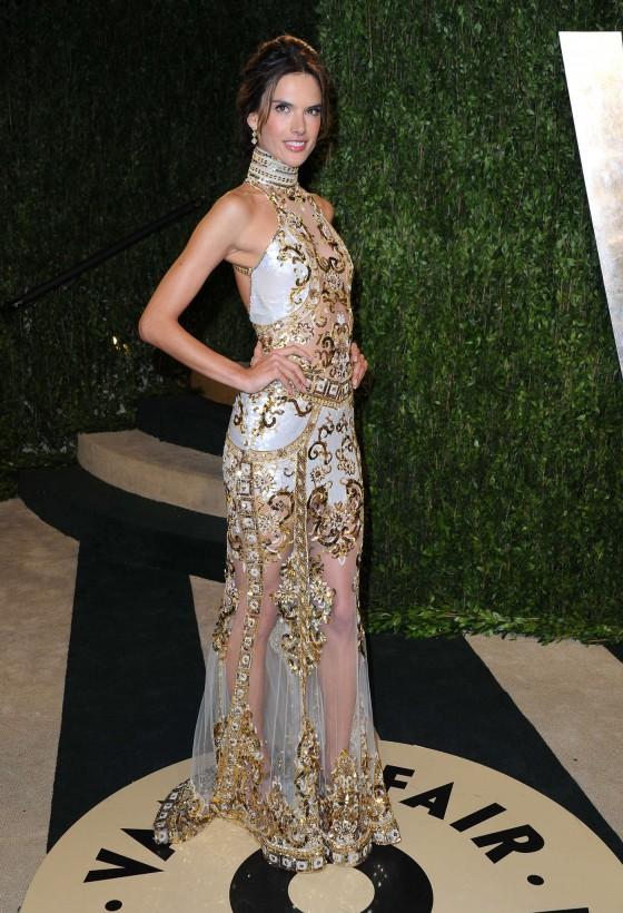 Alessandra Ambrosio – Oscar 2013 – Vanity Fair Party -03