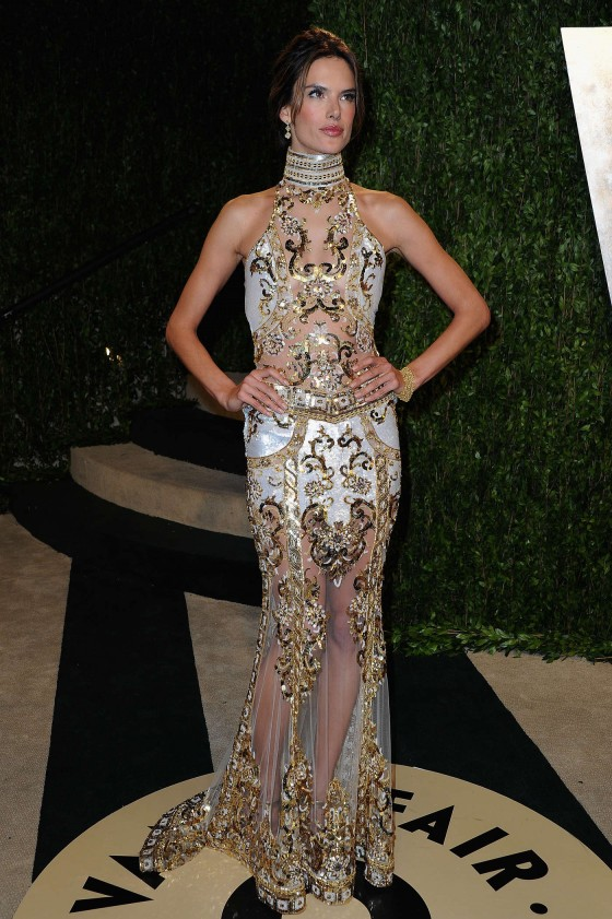 Alessandra Ambrosio – Oscar 2013 – Vanity Fair Party -06