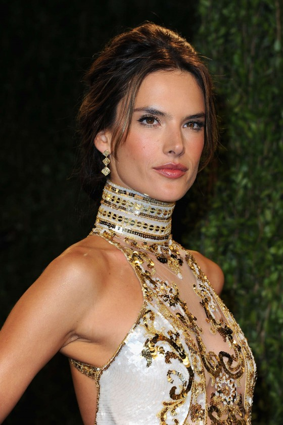 Alessandra Ambrosio – Oscar 2013 – Vanity Fair Party -07