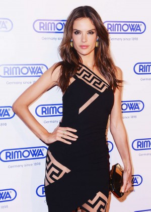 Alessandra Ambrosio - Rimowa Grand Opening in NYC