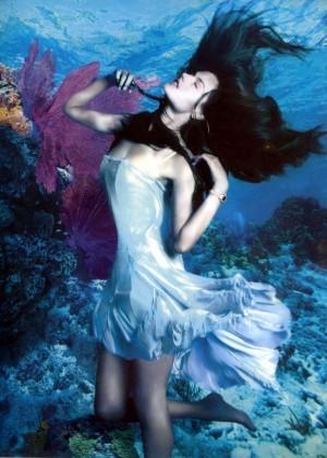 Alessandra Ambrosio & Karolina Kurkova - Rolex Underwater Campaign Spring-Summer 2015