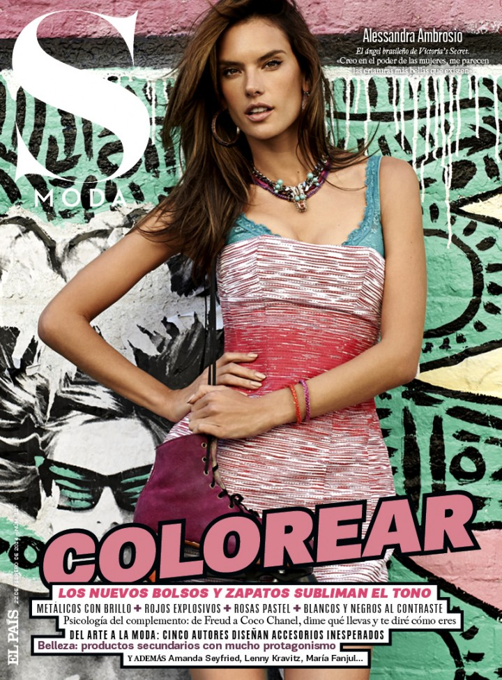 Alessandra Ambrosio: S Moda Magazine (February 2014) -05