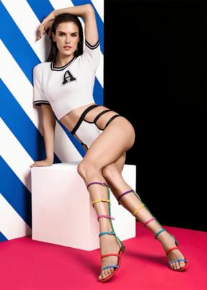 Alessandra Ambrosio - Schutz Summer Holiday 2015