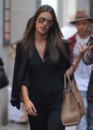 Alessandra Ambrosio - Shopping Candids in Milan