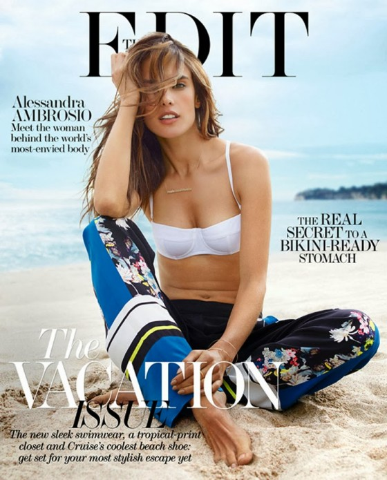 Alessandra Ambrosio: The Edit Magazine 2013 -02