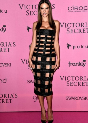 Alessandra Ambrosio - Victoria's Secret Fashion Show After Party in London