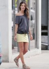 Alessandra Ambrosio - VS photoshoot candids in Venice Beach-58