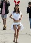 Alessandra Ambrosio - Victorias Secret Photoshoot in LA  -128