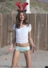 Alessandra Ambrosio - Victorias Secret Photoshoot in LA  -16