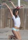 Alessandra Ambrosio - Victorias Secret Photoshoot in LA  -96
