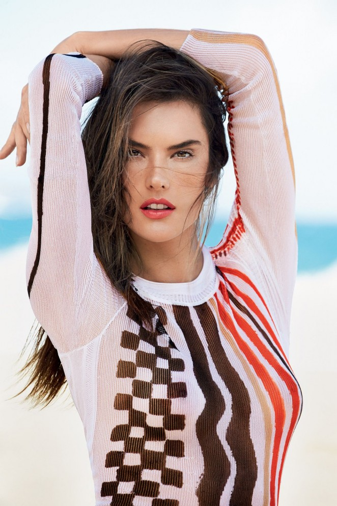 Alessandra Ambrosio - Vogue Brazil Magazine (January 2015)