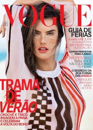 Alessandra Ambrosio: Vogue Brazil 2015 -06