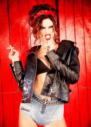 Alessandra Ambrosio - Vogue Brazil Magazine (September 2014)