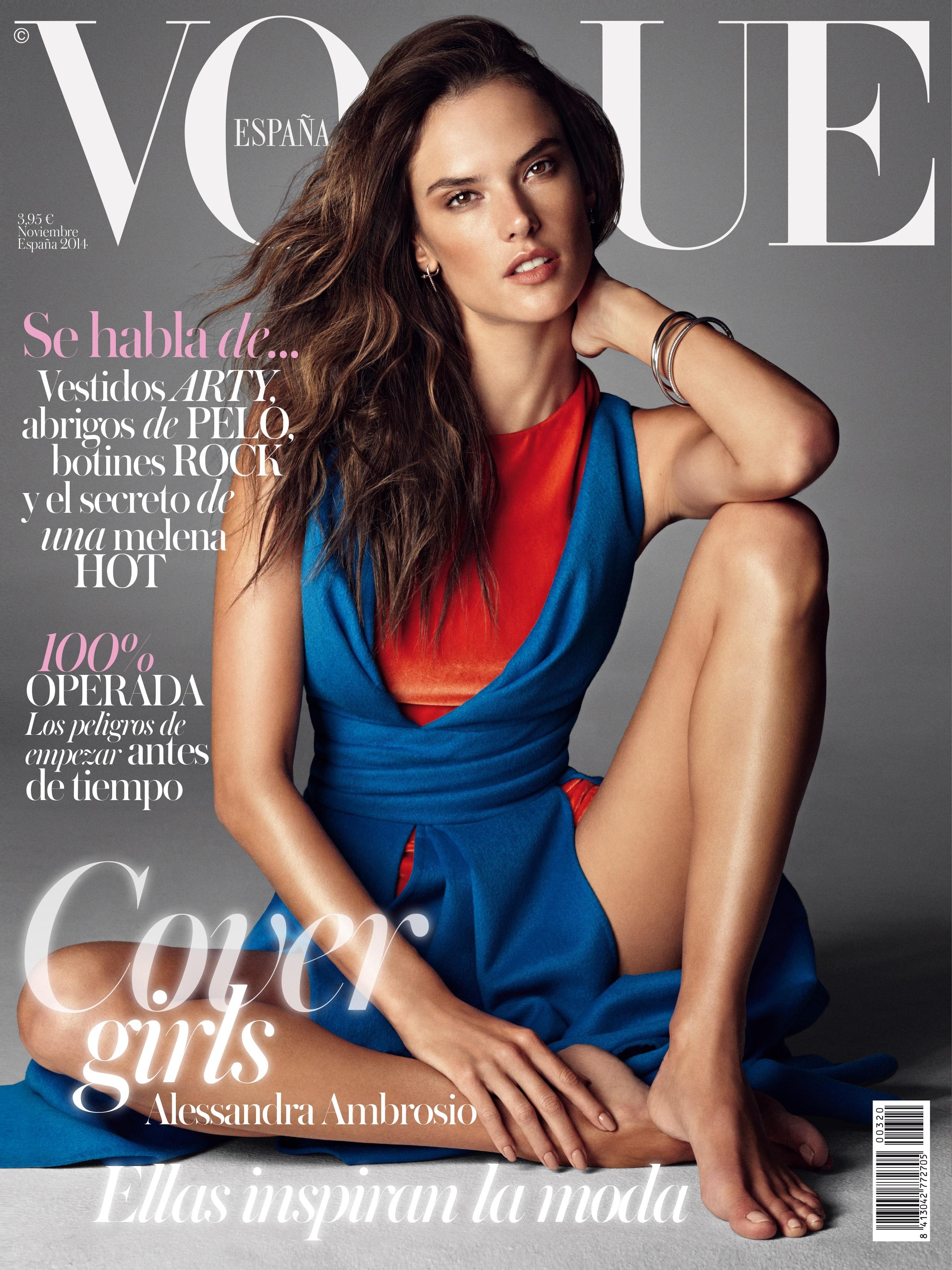 Alessandra Ambrosio - Vogue Spain Magazine Cover (November 2014)