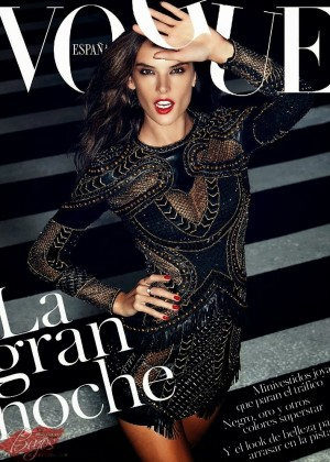 Alessandra Ambrosio - Vogue Spain Magazine (November 2014)