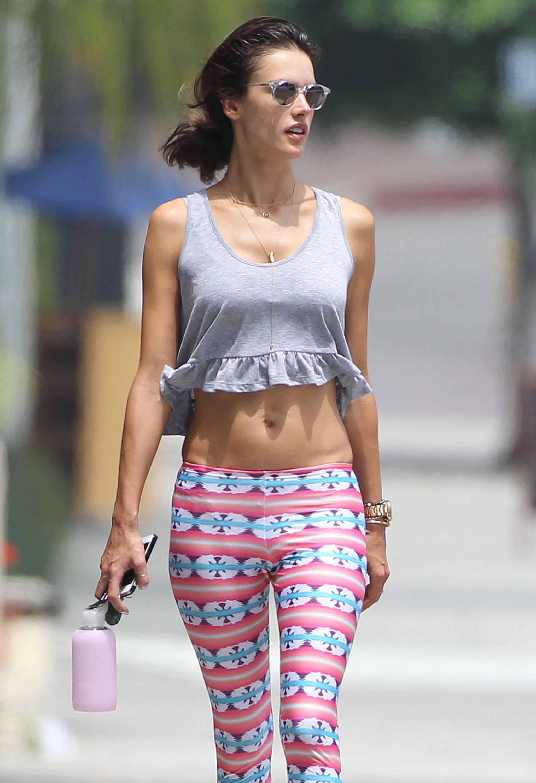 Alessandra Ambrosio 2014 : Alessandra Ambrosio Walking Around in Brentwood-05
