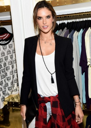 Alessandra Ambrosio - Wildfox Flagship Store Launch Party in West Hollywood