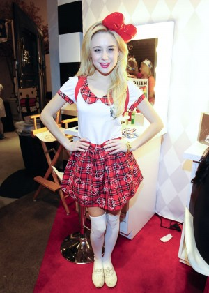 Alessandra Torresani - Sephora's Hello Kitty Beauty Shop in LA