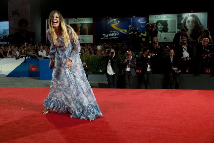 "Alessia Fabiani - ""The Humbling"" Premiere at 71st Venice Film Festival"