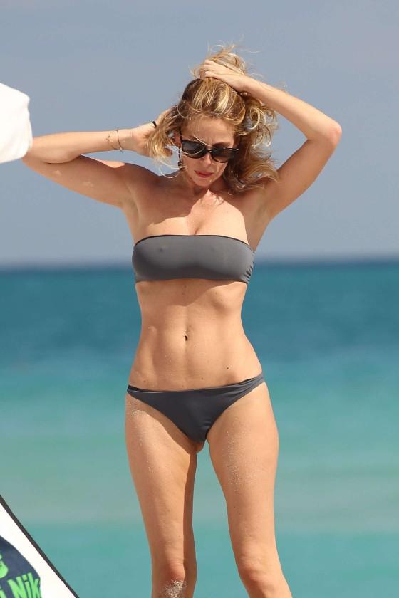 Alessia Marcuzzi In Bikini in Miami-29