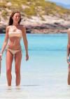 Alessia Tedeschi - Bikini Candids in Formentera - Spain -09