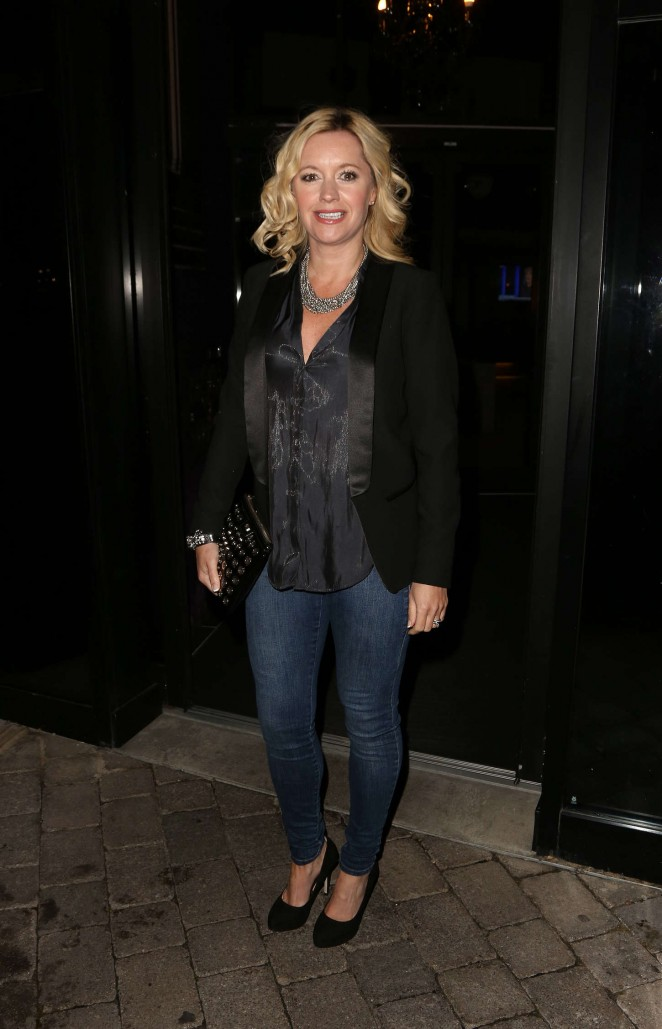 Alex Fletcher - Press Dinner at Malmaison Hotel in Liverpool