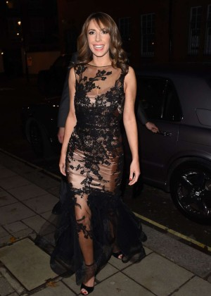 Alex Jones at Katie Piper Foundation Ball in London