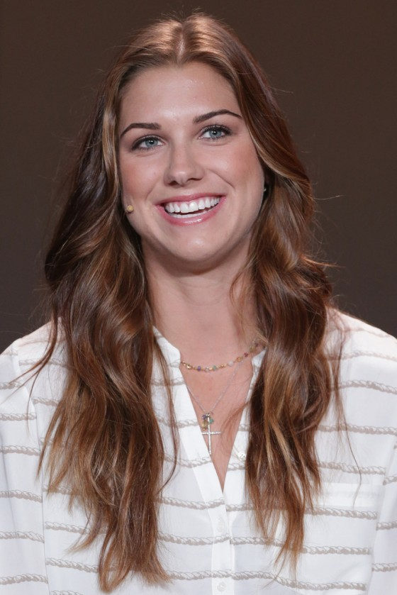 Alex Morgan - 2013 FIFA Press Conference In Zurich