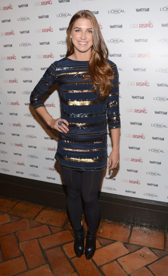 Alex Morgan at 2013 Vanity Fair and DJ Night with LOreal Paris Event in LA-03