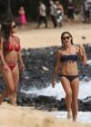 Alex Morgan and Sydney Leroux Bikini Photos: Hawaii 2013 -28