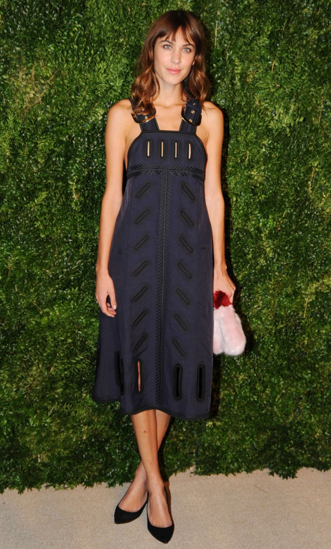 Alexa Chung - 11th annual CFDA/Vogue Fashion Fund Awards in NY