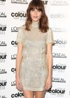 Alexa Chung at the LOreal Colour Trophy Awards 2013 in London -07