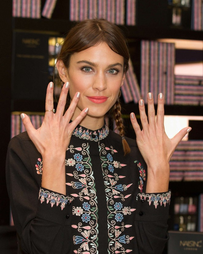Alexa Chung - The Alexa Editions Launch in London