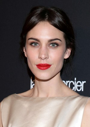 Alexa Chung: 2014 The Weinstein Company and Netflix GG after party -02