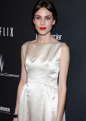 Alexa Chung: 2014 The Weinstein Company and Netflix GG after party -03