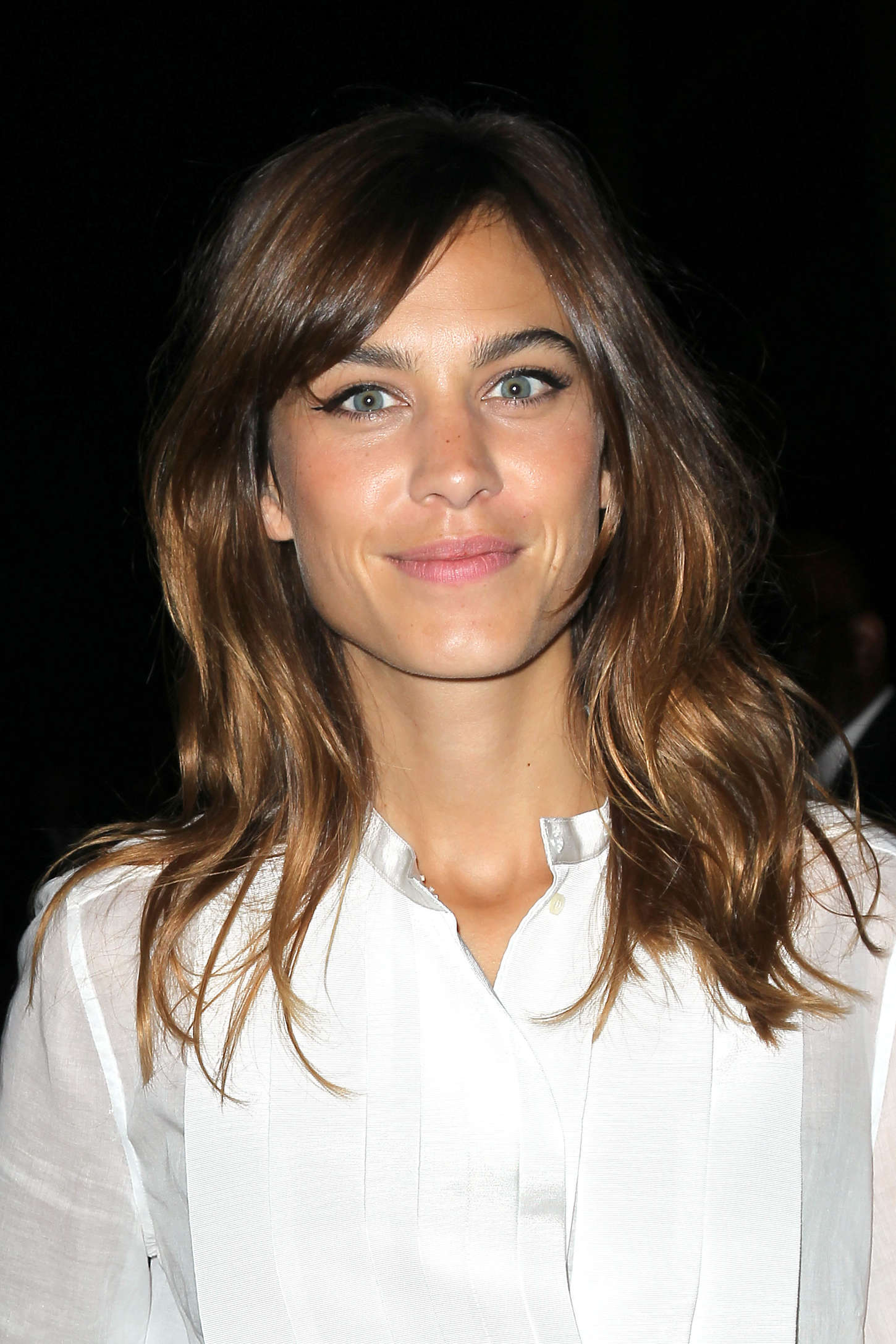 The One Thing Alexa Chung Does to Her Hair Every Day