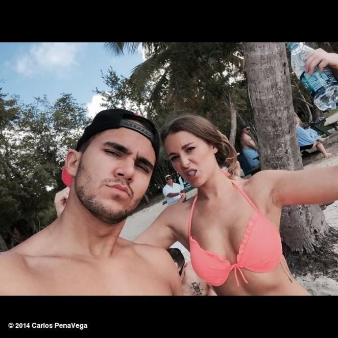 Alexa Vega in Bikini Top - Instagram Pics