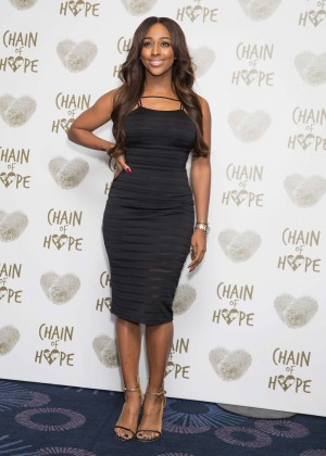 Alexandra Burke - Chain of Hope Gala Ball 2014 in London