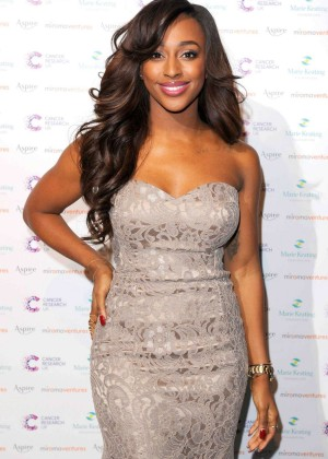 Alexandra Burke - Emeralds & Ivy Ball in London