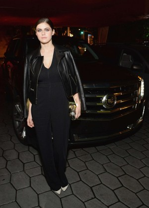 Alexandra Daddario - Cadillac & GQ Celebrate Men Of The Year in West Hollywood