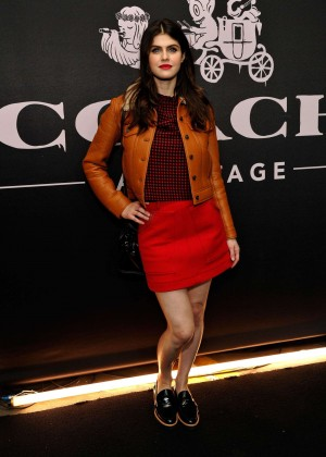 Alexandra Daddario - Coach Rodeo Drive Store Cocktail in Beverly Hills